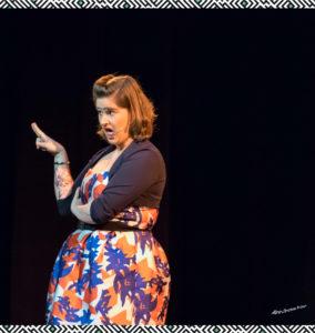 Elodie Poux – La grande nuit de l'humour – février 2017
